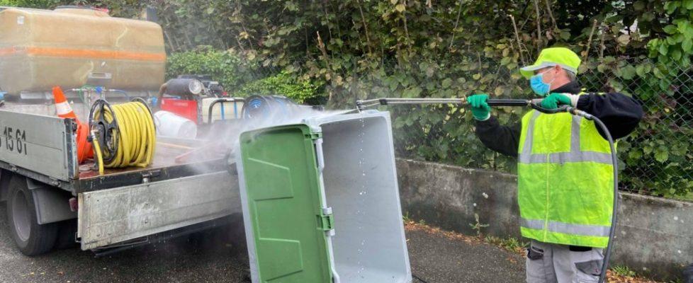 Désinfection de gaines et containers poubelles - Prodhyg 38 - Grenoble ©LES PROFESSIONNELS DE L'HYGIÈNE
